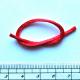 H005 - červená bižutení šňůrka