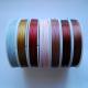 Bílá, Žlutá, Červená, Světle růžová, Šedo-růžová, průměr 0,45