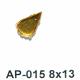 AP-015 hruška 8x13