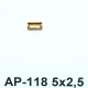 AP-118 baquett 5x2,5